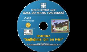 Özel 29 Mayıs Hastanesi CD Baskı
