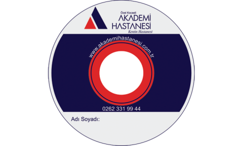 Akademi Hastanesi CD Baskı İşlemi
