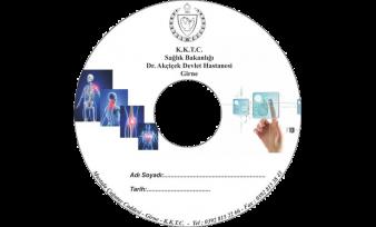 akcicek hastanesi CD Baskı