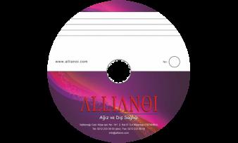 Allianoi Hastanesi CD Baskı
