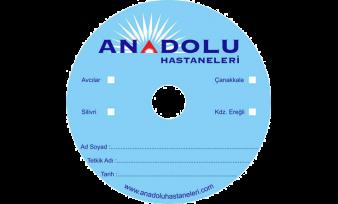 Anadolu Hastanesi CD Baskı