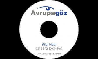 Avrupa Göz Hastanesi CD Baskı