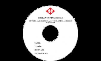 Başkent Üniversitesi Hastanesi CD Baskı