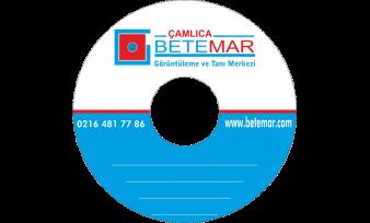 Betemar Hastanesi CD Baskı
