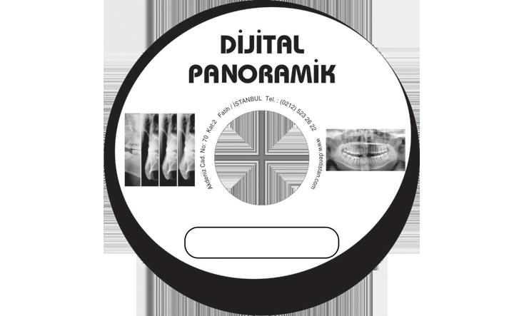 Dijital Panoramik Hastanesi CD Baskı