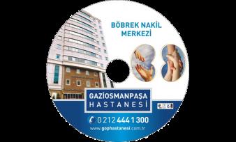Gaziosmanpaşa Hastanesi CD Baskı
