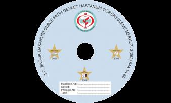 Gebze Devlet Hastanesi CD Baskı