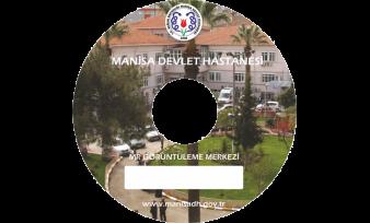 Manisa Devlet Hastanesi CD Baskı