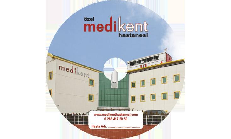 Medi-Kent Hastanesi CD Baskı