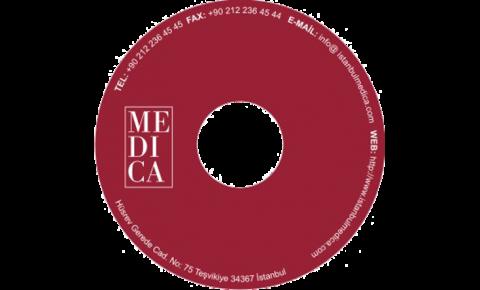 medica hastanesi cd baskısı