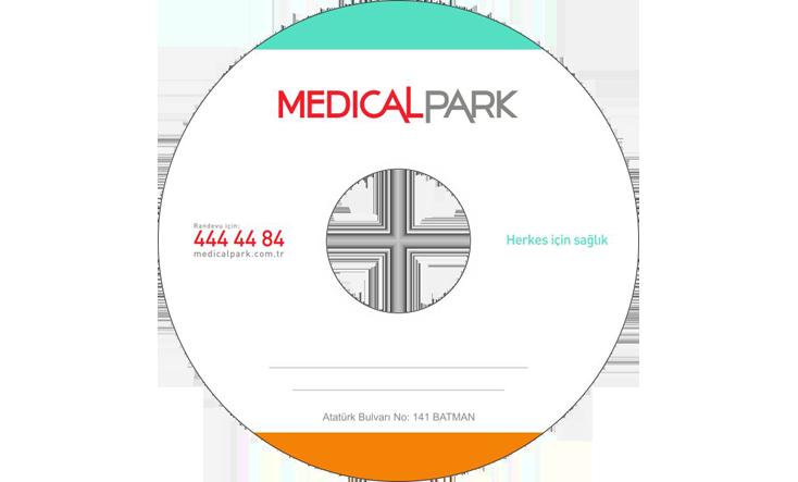 medical park hastanesi cd baskısı