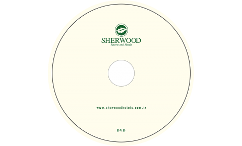 Sherwood Otel CD Baskı İşlemi