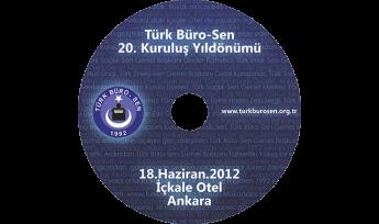 Türk Büro-Sen CD Baskı İşlemi