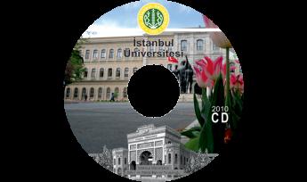 İstanbul Üniversitesi CD Baskı İşlemi