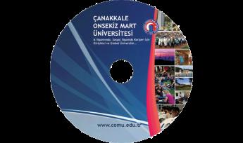 Çanakkale Onsekiz Mart Üniversitesi CD Baskı İşlemi