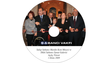Sabancı Vakfı CD Baskı İşlemi