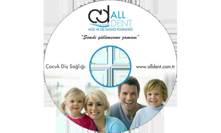 Aldent Hastanesi CD Baskı