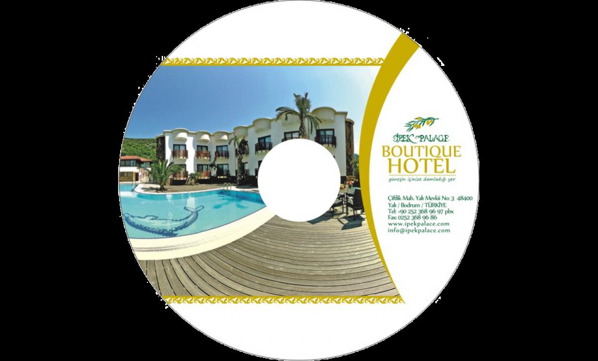 Boutique Otel CD Baskı İşlemi