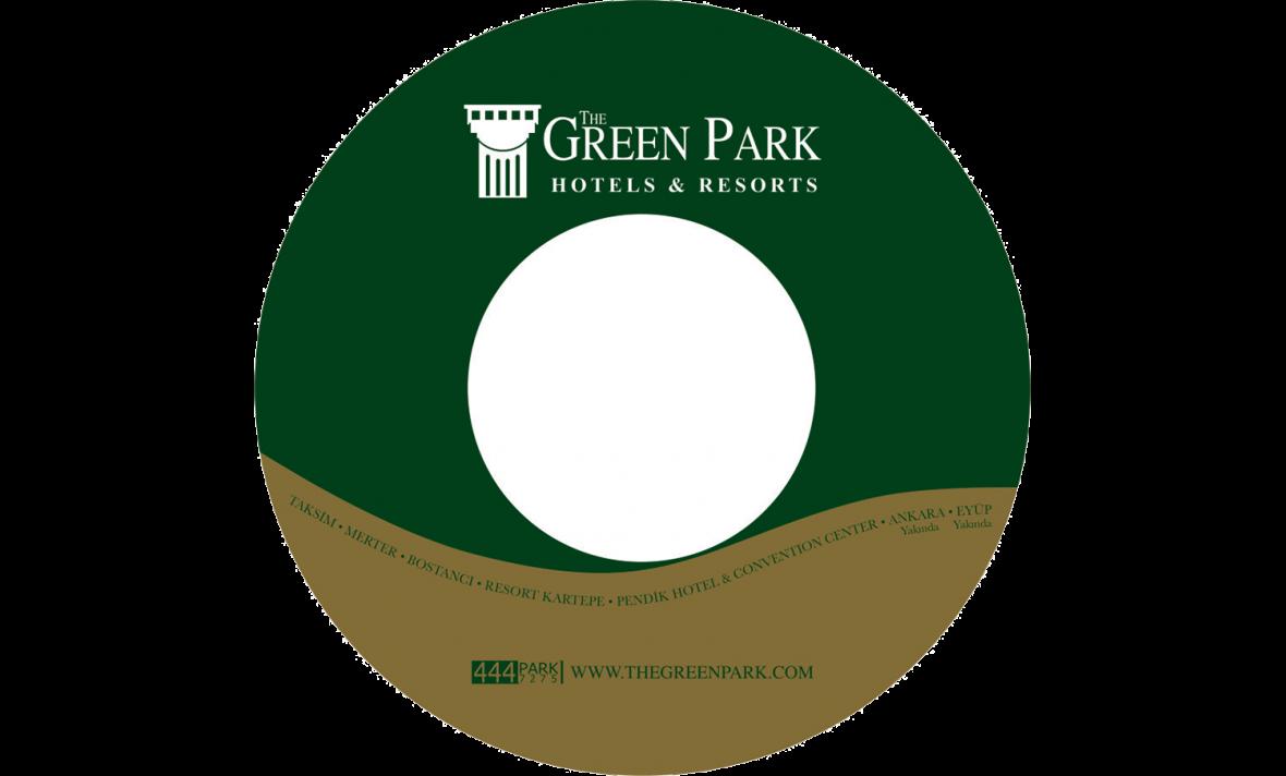 Green Park Otel CD Baskı İşlemi