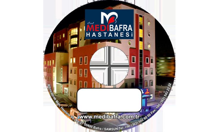 Medi Bafra Hastanesi CD Baskı