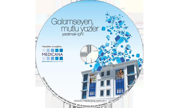 Medicana Hastanesi CD Baskı