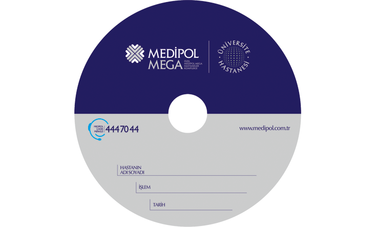 Medipol Hastanesi CD Baskı